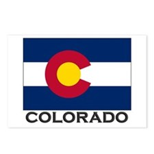 Colorado Flag Stuff Postcards (Package of 8)