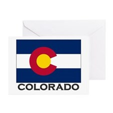 Colorado Flag Stuff Greeting Cards (Pk of 10)