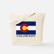 Colorado Flag Stuff Tote Bag