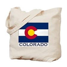 Colorado Flag Gear Tote Bag