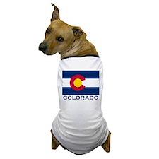 Colorado Flag Gear Dog T-Shirt
