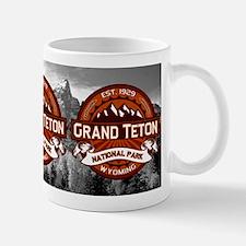 Grand Teton Crimson Mug