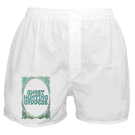 Ghost Hunting Goddess Boxers