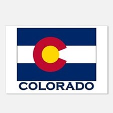 Colorado Flag Merchandise Postcards (Package of 8)
