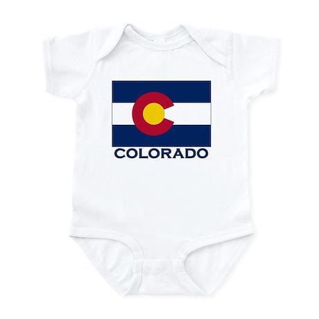 Colorado Flag Merchandise Infant Bodysuit
