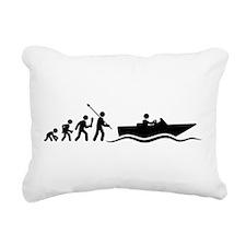 Boating Rectangular Canvas Pillow