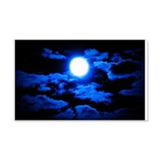 Once, In a Blue Moon Wall Decal