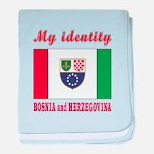 My Identity Bosnia and Herzegovina baby blanket