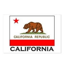 California Flag Stuff Postcards (Package of 8)