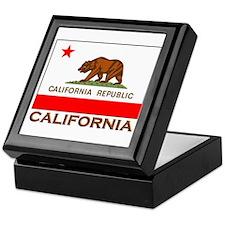 California Flag Merchandise Keepsake Box