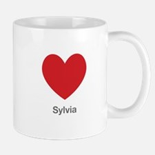 Sylvia Big Heart Mug