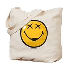 unconscious smiley Tote Bag