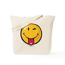 playful smiley Tote Bag