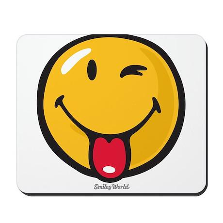playful smiley Mousepad