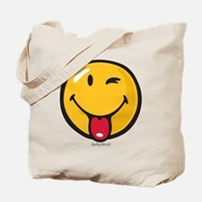 playful smiley Tote Bag