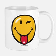 playful smiley Small Small Mug
