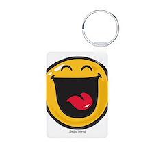 highly amused Keychains