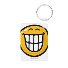 delight smiley Keychains