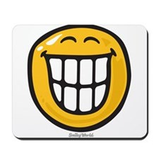 delight smiley Mousepad