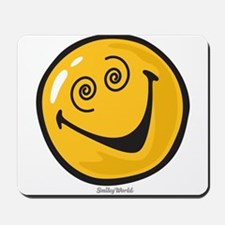 crazy smiley Mousepad