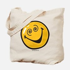 crazy smiley Tote Bag