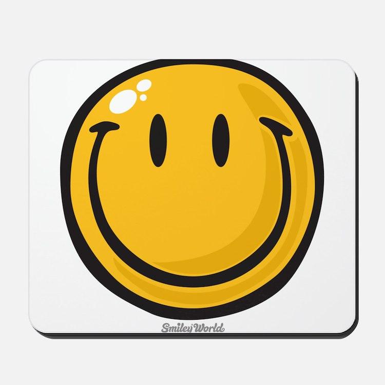 big smile smiley Mousepad