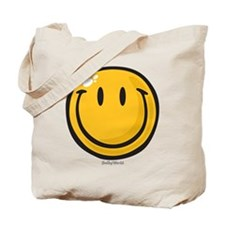 big smile smiley Tote Bag