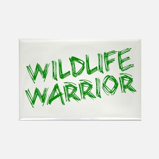 """Wildlife Warrior"" Rectangle Magnet"