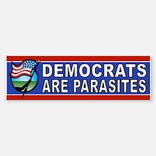 DEM PARASITES Bumper Car Car Sticker