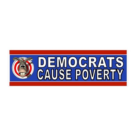 DEMS IN POVERTY Wall Decal