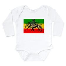 Cute Jamaica jamaican american jamaican american Long Sleeve Infant Bodysuit