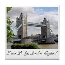 Tower Bridge Ceramic Coaster