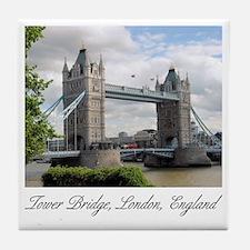 Tower Bridge Ceramic Coaster