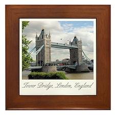 Tower Bridge Framed Ceramic Tile