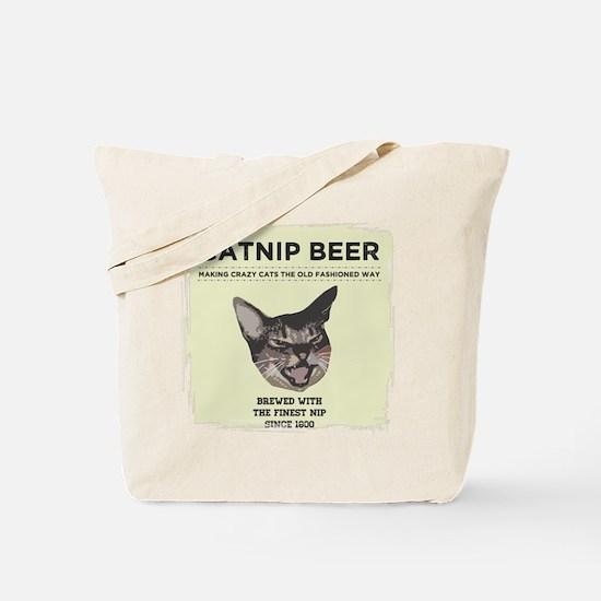 Catnip Beer Tote Bag