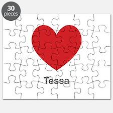 Tessa Big Heart Puzzle