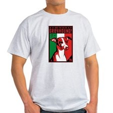Italian Greyhound! Ash Grey T-Shirt