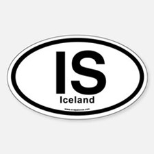 IS - Iceland Bumper Stickers
