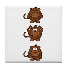 Hear No Evil, Speak No Evil, See No Evil Monkeys T