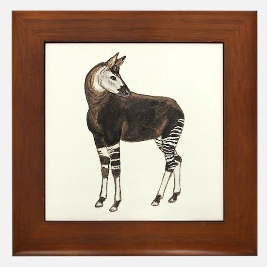 Okapi Framed Tile