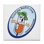 Scouting Radio Tile Coaster