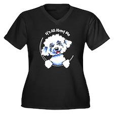 Bichon Frise IAAM Plus Size T-Shirt