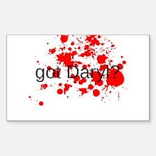Got Daryl Decal