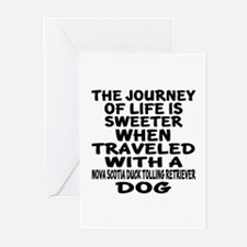 Traveled With Nova Scoti Greeting Cards (Pk of 10)