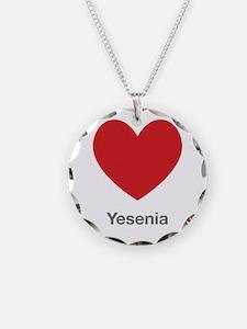 Yesenia Big Heart Necklace