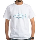 Snook Mens White T-shirts