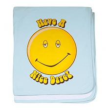 Have a Nice Daze baby blanket