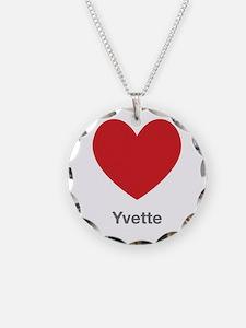 Yvette Big Heart Necklace