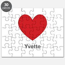 Yvette Big Heart Puzzle