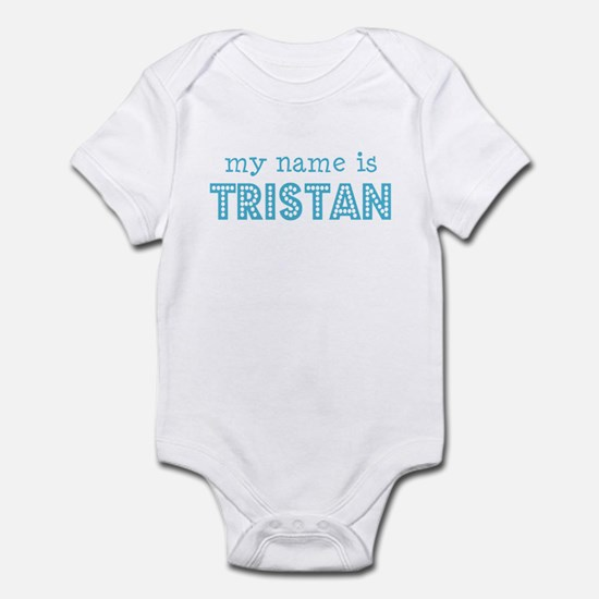 My name is Tristan Infant Bodysuit